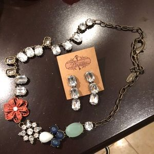 Necklace & Earring by Plunder